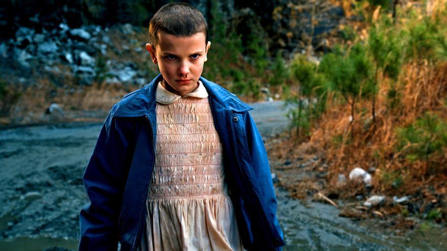 Eleven, gran protagonista en la 2ª temporada de 'Stranger Things'
