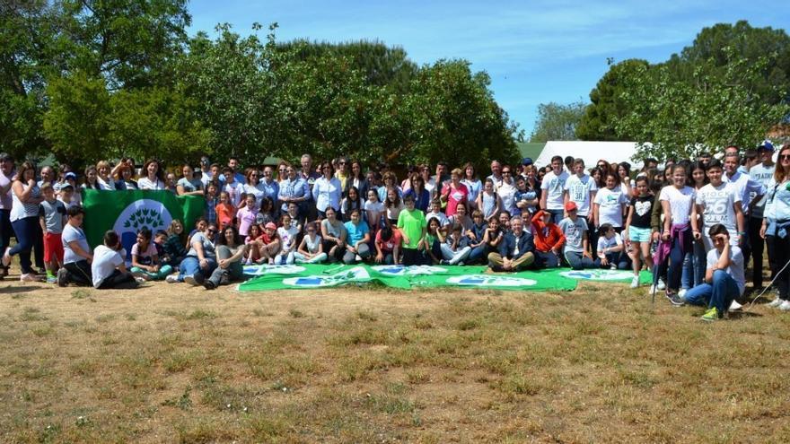 Encuentro de centros participantes en el programa Ecoescuelas / Diputación de Toledo