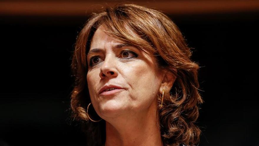 Delgado denuncia que el PP la trata con machismo al acusarla de marioneta de Garzón
