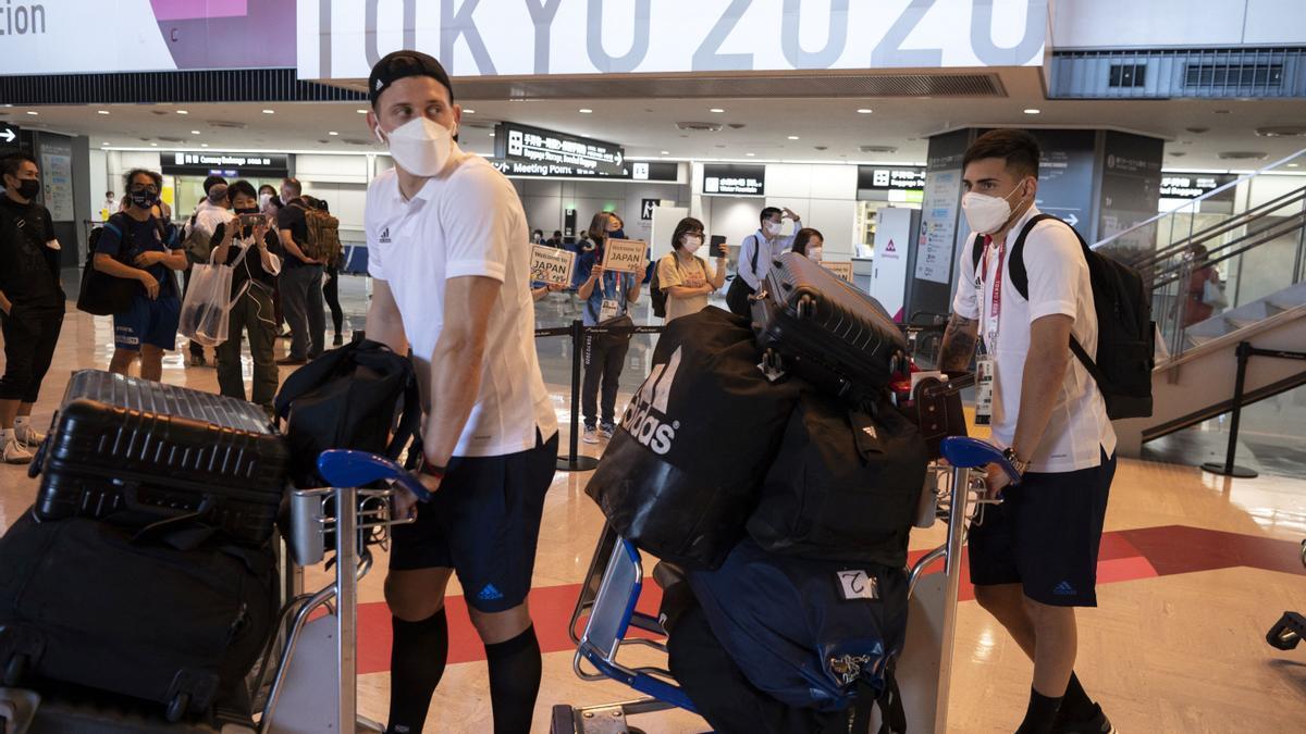 El sub 23 de Argentina llegó a Tokio para los Juegos Olímpicos