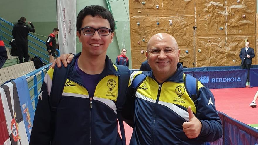 Pablo Sosa y Vicente Pérez, pareja del Círculo.