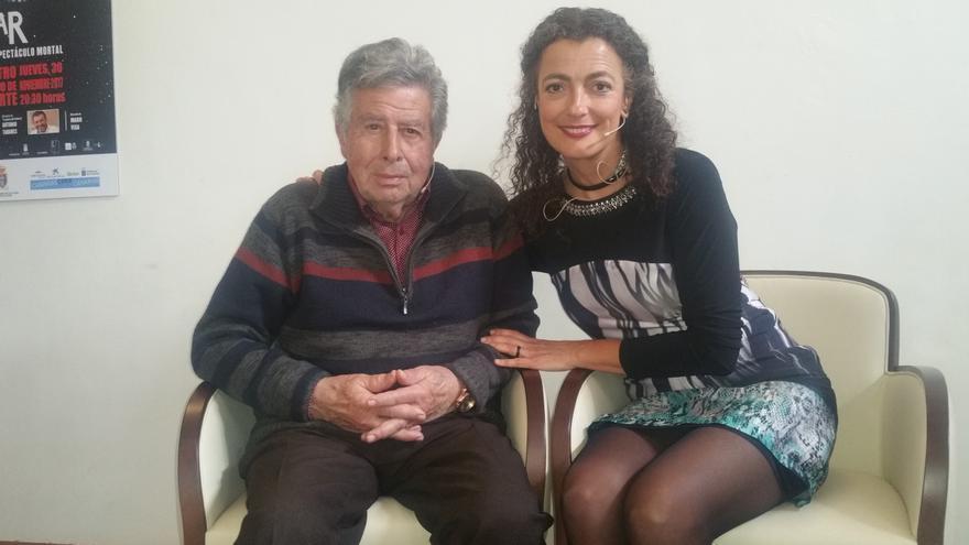 Fernando Garciarramos y Blanca Quevedo este lunes en el Circo de Marte.