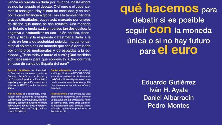Libro 'Qué hacemos con el euro' (Akal)