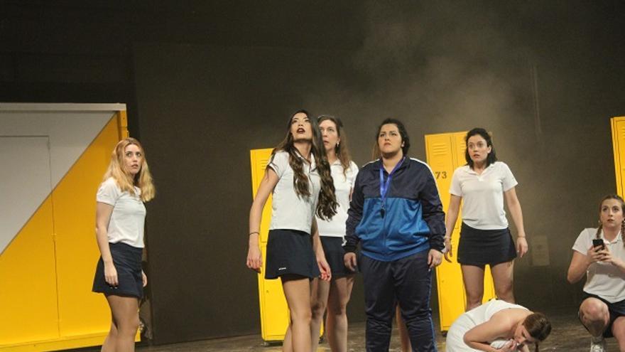 Una escena de 'Carrie interpretado por uno de los grupos de la especialidad de Interpretación Musical de la ESAD de Murcia