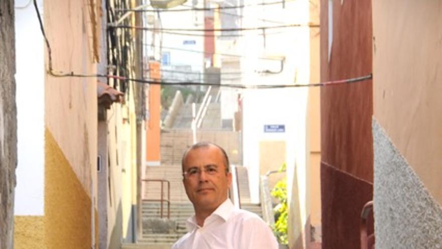 Miguel Ángel González Suárez, candidato de UPyD en Santa Cruz.