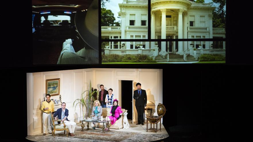 Escena de la ópera Agrippina que está programada en el Maestranza para este febrero /Foto: AnnemieAugustijns