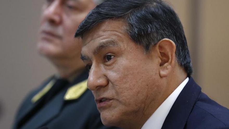 En la imagen el ministro peruano del Interior, Carlos Morán, EFE/Paolo Aguilar/Archivo