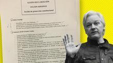 Ecuador grabó las conversaciones privadas de Assange en la embajada y se hizo con documentos confidenciales