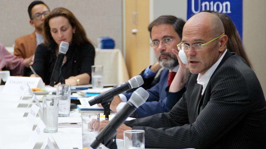 Romeva destaca que Cataluña tiene vocación de participar en los debates globales