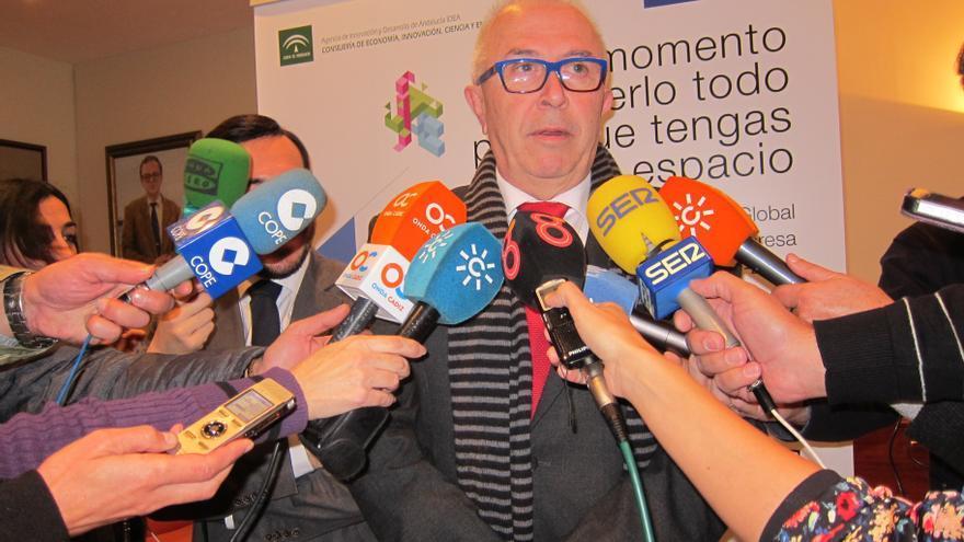 Sánchez Maldonado, dispuesto a analizar criterios para distribuir ayudas del Andalucía Orienta por si hay que revisarlos
