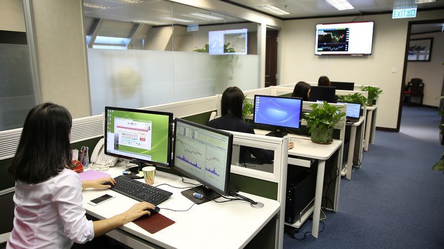oficina empresa ordenador