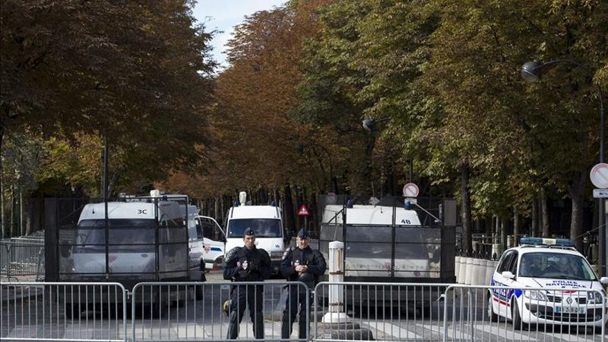 Detenido el presunto autor del ataque a un militar francés en París