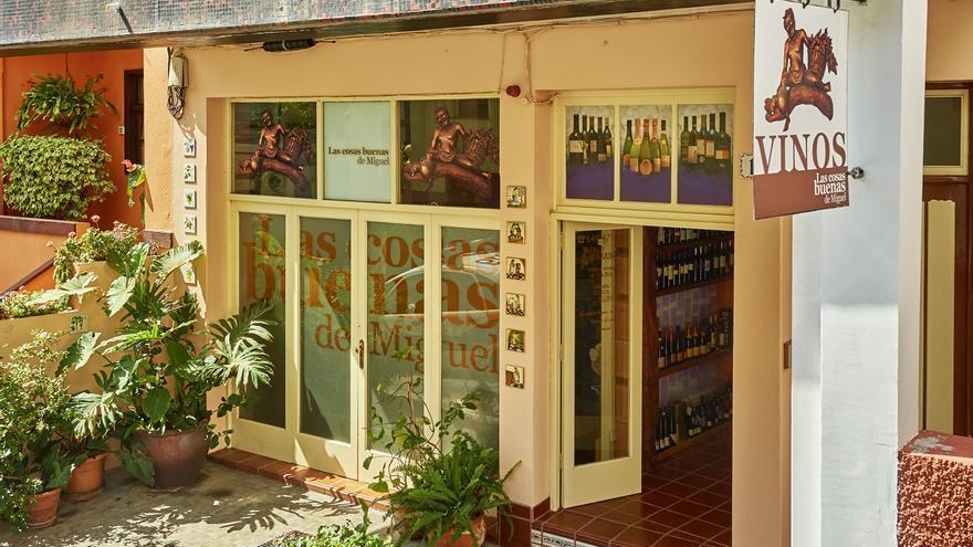 Fachada de la tienda Las Cosas Buenas de Miguel.