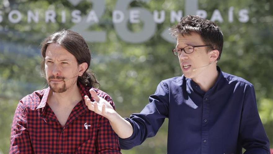 Podemos fue el más nombrado en Facebook mientras se negociaba la investidura