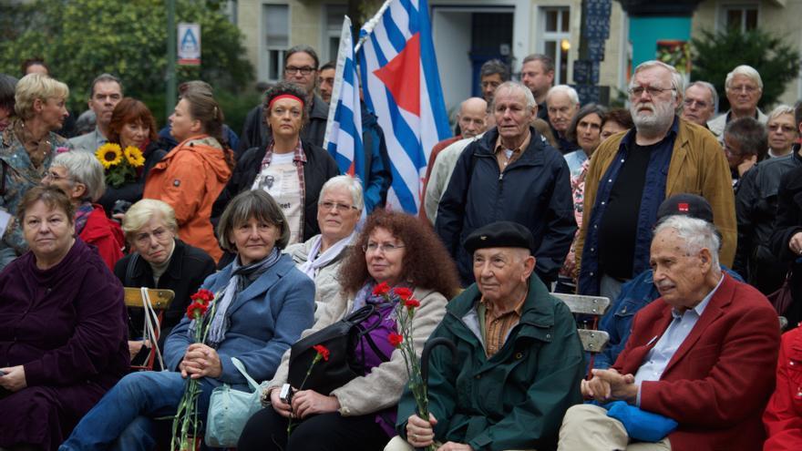 Homenaje a las Brigadas Internacionales en el 80 aniversario de su formación