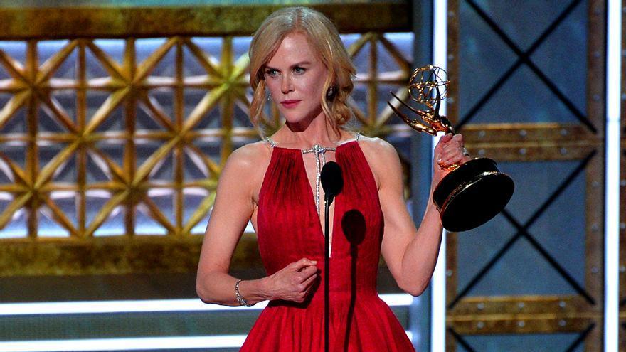 Nicole Kidman en los Emmy 2017