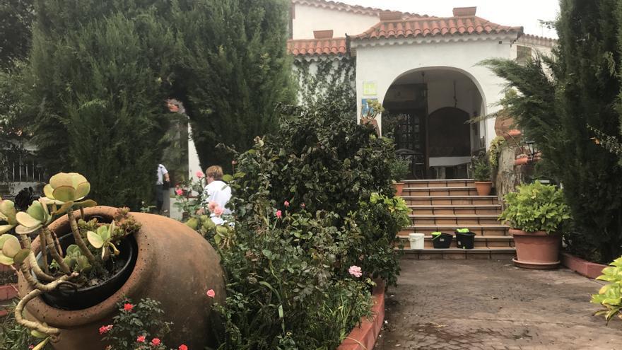 Entrada del Hotel Rural El Refugio