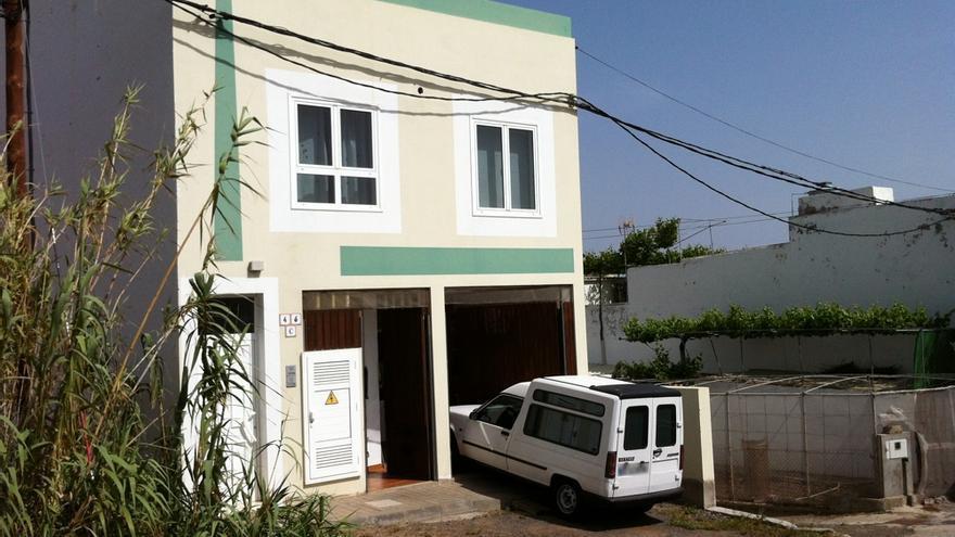 La casa ubicada en la localidad teldense de Lomo Magullo.