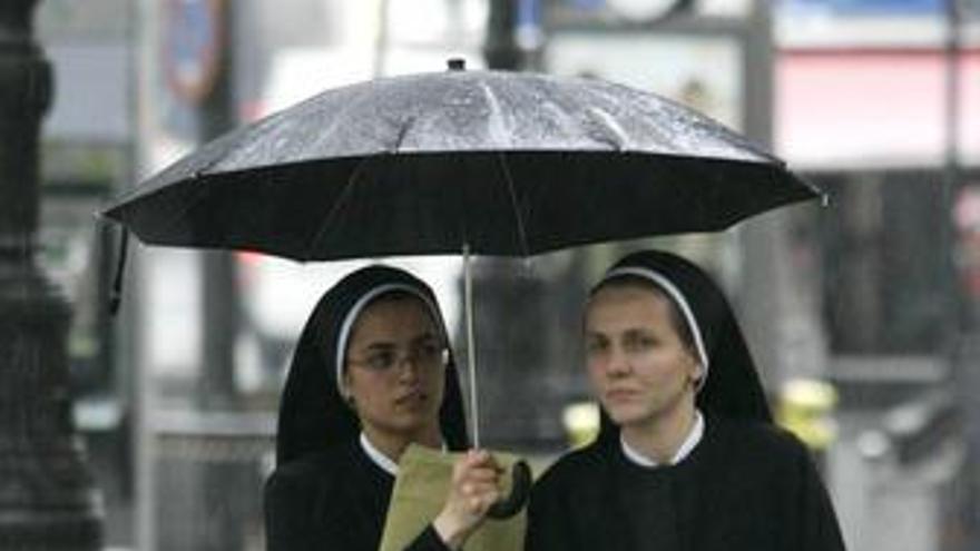 Las lluvias continúan este domingo