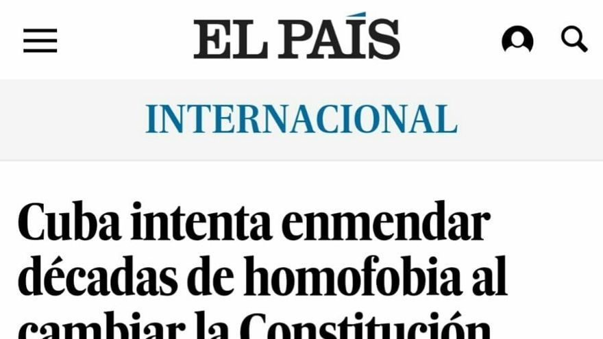 Matrimonio homosexual Cuba