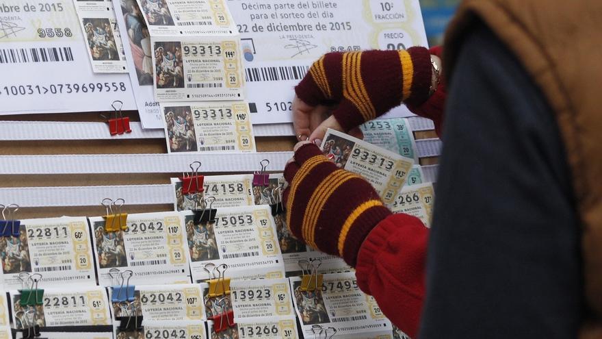 Los navarros gastarán este año una media de 55,08 euros en el Sorteo de la Navidad