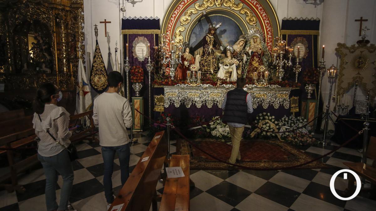 Veneración a Nuestro Padre Jesús Nazareno (Santa Faz) y María Santísima de la Trinidad
