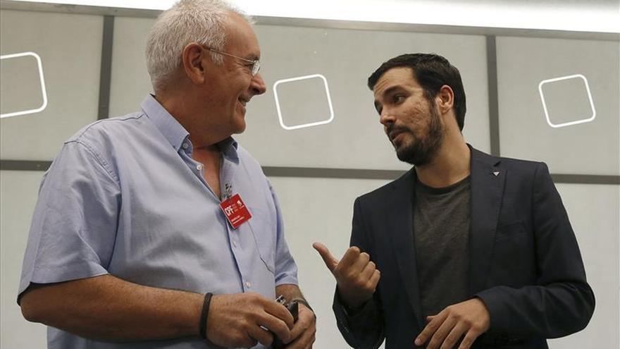Cayo Lara y Alberto Garzón, en una imagen de archivo.