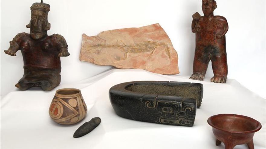 México recupera más de 110 piezas arqueológicas distribuidas en seis países
