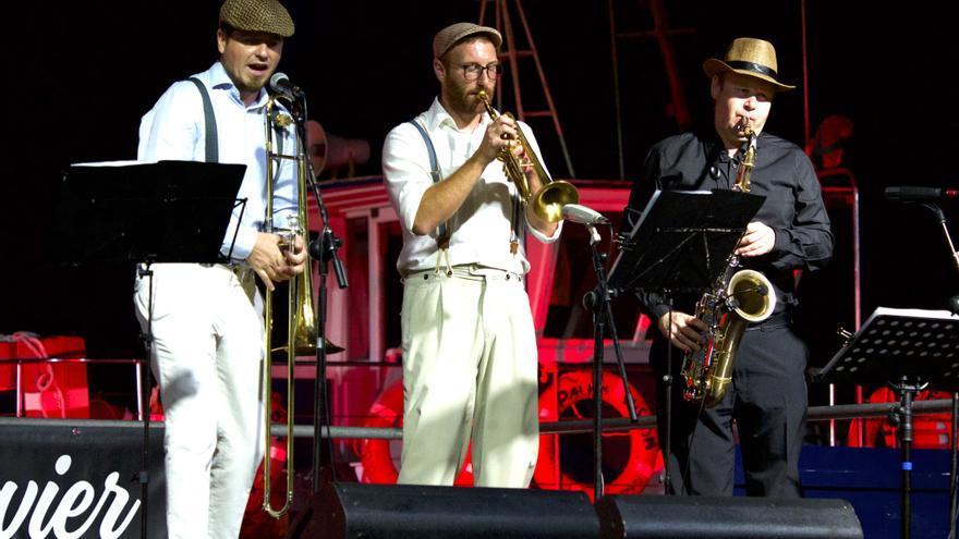 Jaime de la Cruz, José Manuel Lucas y Oliver König es el trío de vientos.j