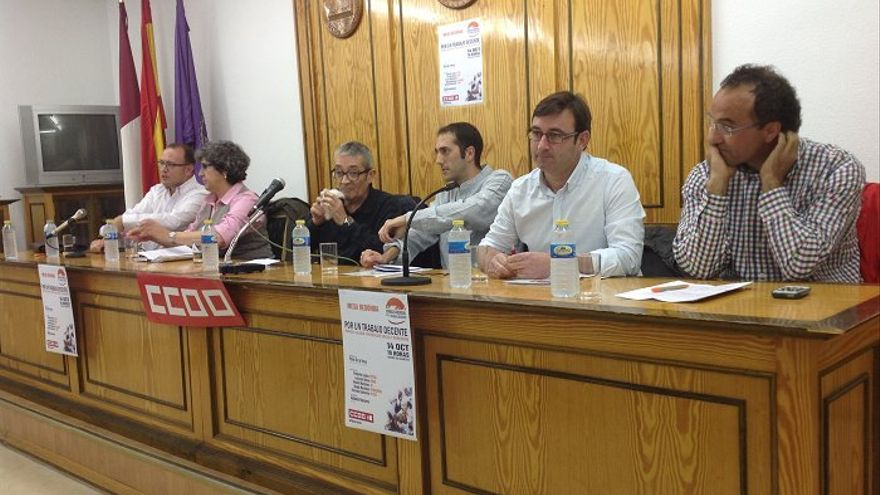 Mesa de trabajo Albacete 14 de octubre 2014