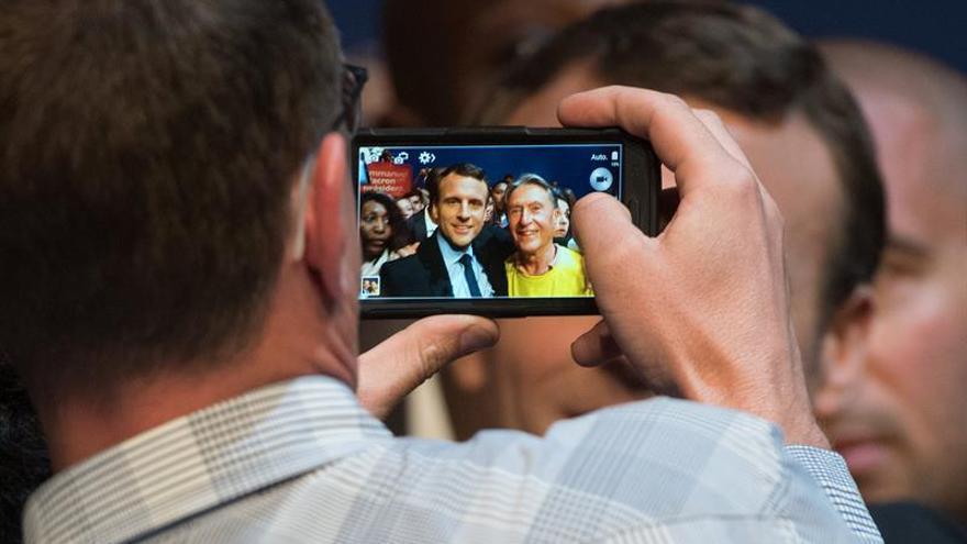 """En Marcha, el arma """"a la Obama"""" de Macron para conquistar el Elíseo"""