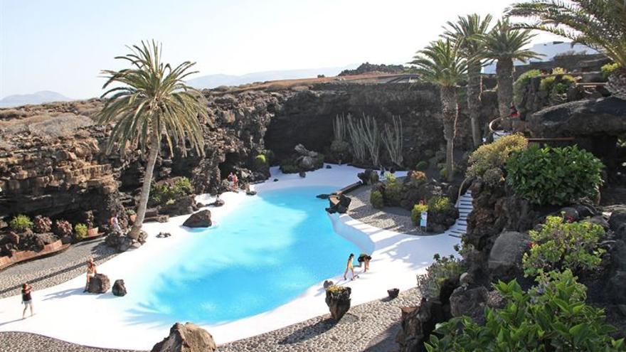 Los Jameos del Agua, uno de los centros turísticos de la isla de Lanzarote.