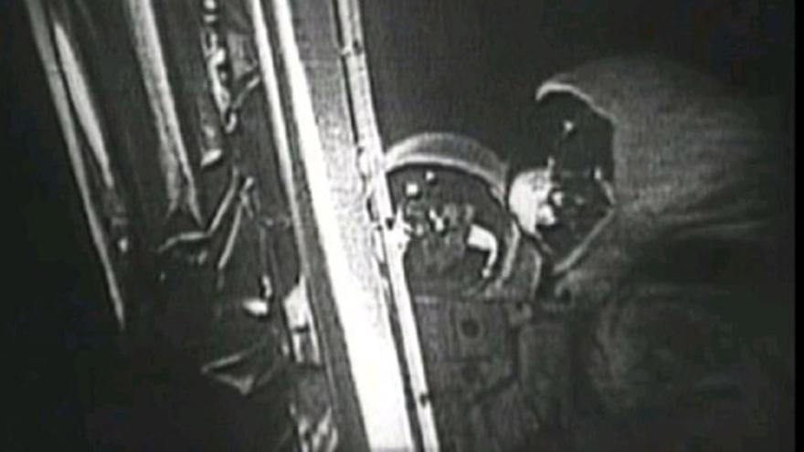 Imagen de la transmisión del Apolo 11 de antes de la restauración (Imagen: Wikipedia)