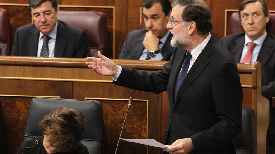 Rajoy responde el miércoles en el Congreso a preguntas sobre la brecha salarial, el procés y la 'caja B' del PP
