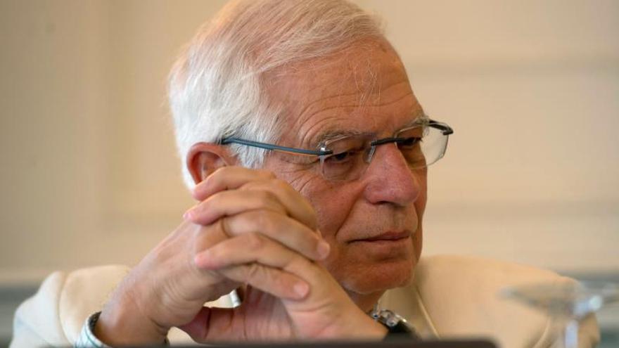 Borrell niega que exista un problema con Italia a causa del Open Arms