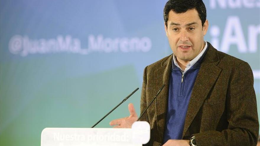 """Moreno ve la marca Andalucía """"achicharrada"""" por la corrupción y promete más control"""