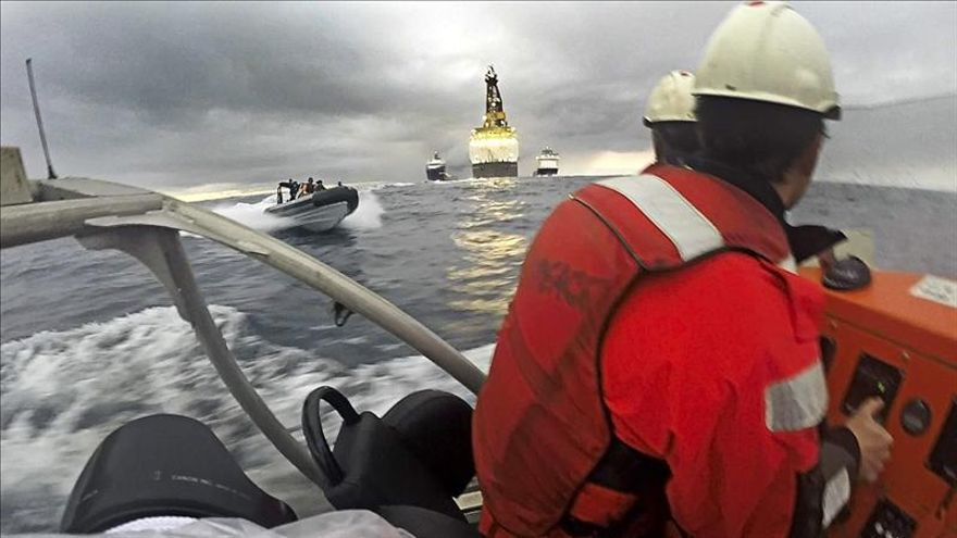Rivero culpa al Gobierno del incidente entre la Armada y Greenpeace