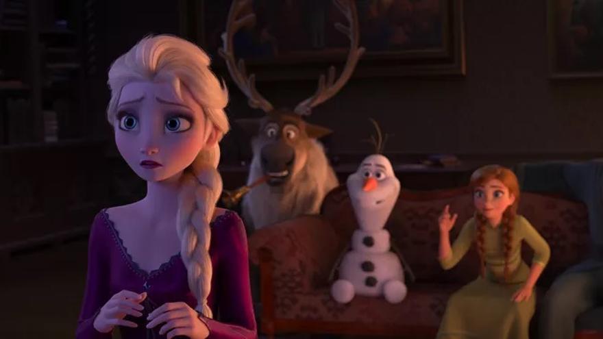 Fotograma de 'Frozen II'