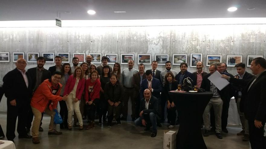 Delegación china en Toledo