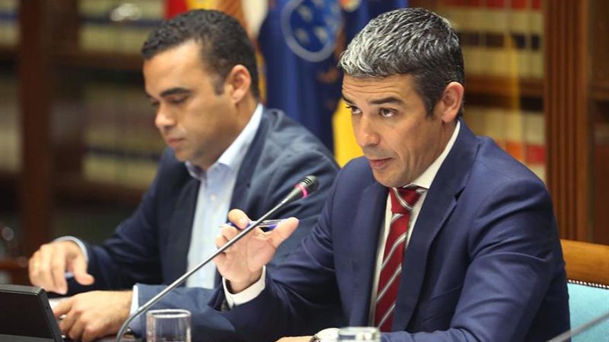 Narvay Quintero, consejero de Agricultura del Gobierno de Canarias.