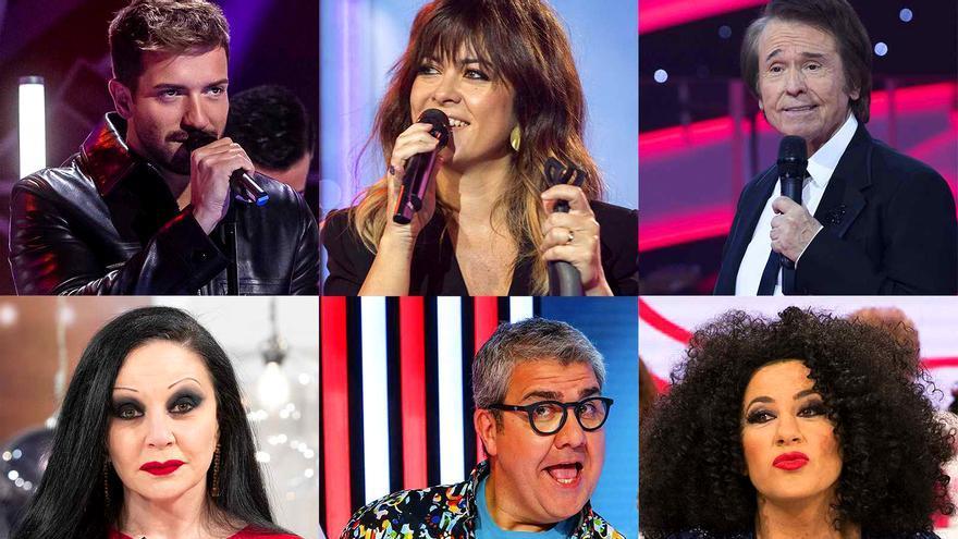 Protagonistas de la programación navideña de TVE 2020