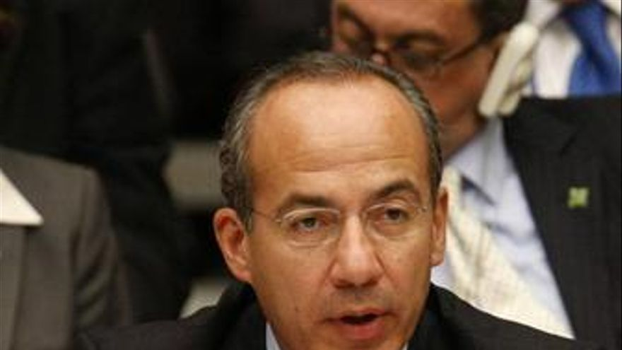 Presidente México, Felipe Calderón