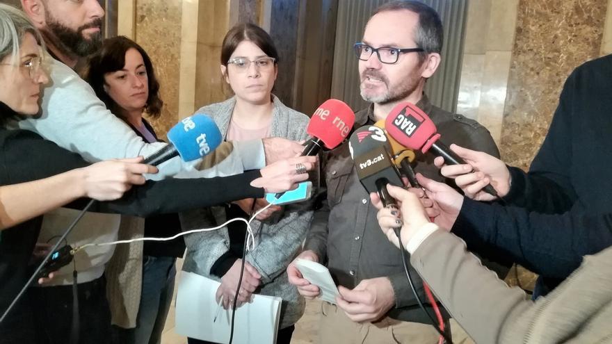 El vicepresidente del Parlament niega que Torrent le explicase su decisión de recurrir a Estrasburgo la investidura