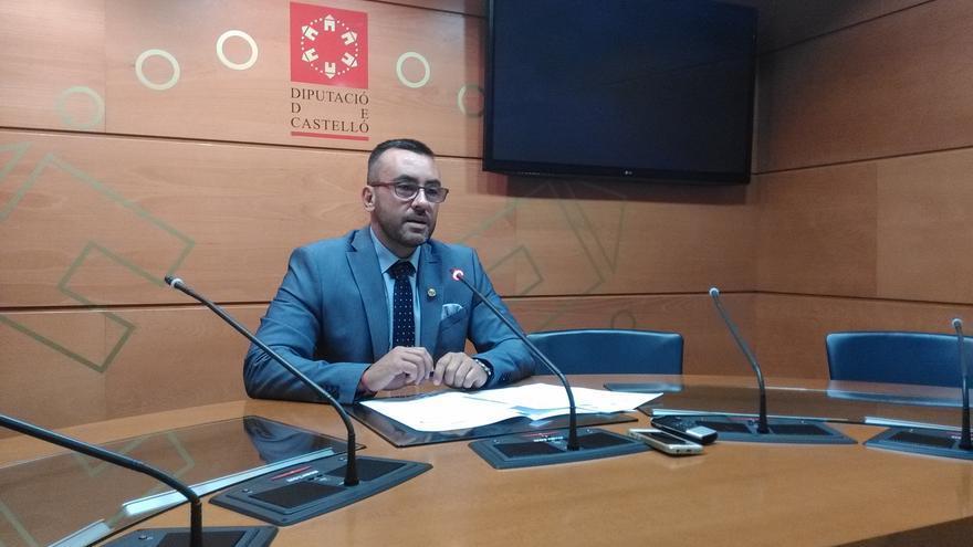 José Benlloch, portavoz del PSPV, durante su comparecencia para solicitar la comisión de investigación