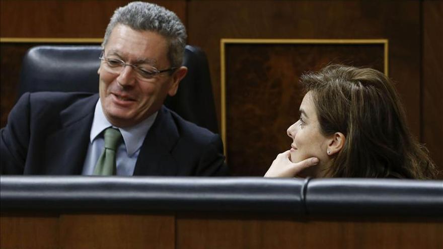 Ruiz-Gallardón asegura que no se cerrará ninguna sede judicial en España