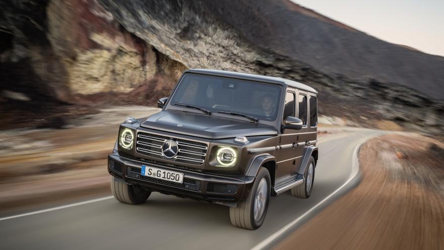 Nuevo Mercedes Clase G.