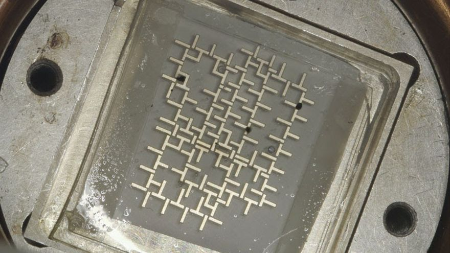 El ordenador que funciona con el movimiento de las gotas de agua
