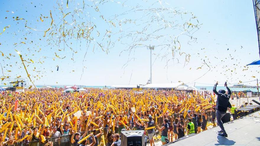 Imagen del festival Arenal Sound en su edición del año 2015.