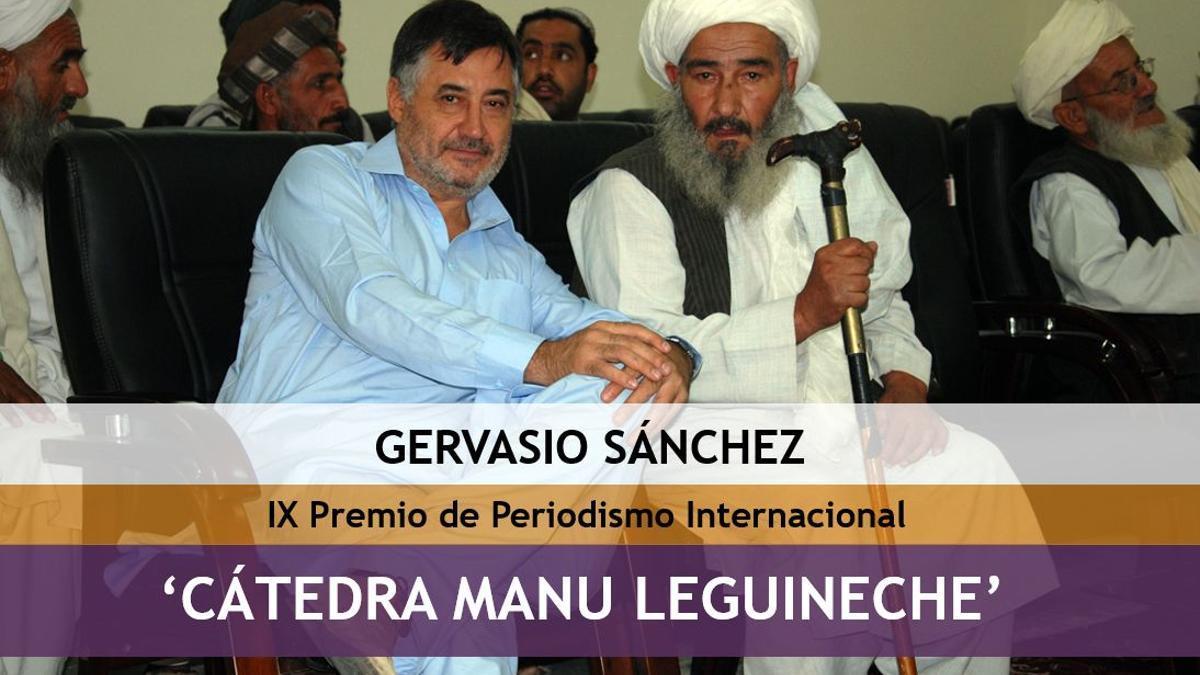 Gervasio Sánchez, Premio Cátedra Manu Leguineche