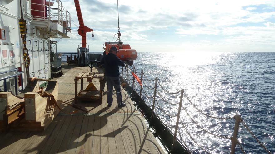 El buque de investigación oceánica alemán Poseidon